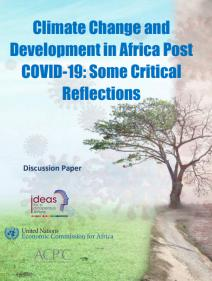 Climate change and development in Africa Post COVID-19: some critical reflections - Discussion paper