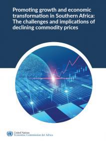 Promoting growth and economic transformation in Southern Africa: The challenges and implications of declining commodity prices