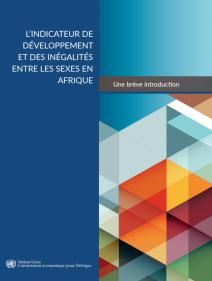 L'indicateur de développement et des inégalités entre les sexes en Afrique