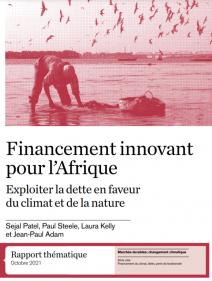 Financement innovant pour l'Afrique Exploiter la dette en faveur du climat et de la nature