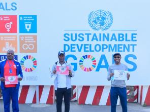 ECA, AUC walk stimulates community involvement in promoting road safety awareness