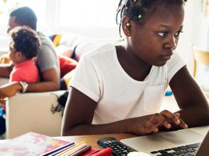 Empowering young Africa girls through technology