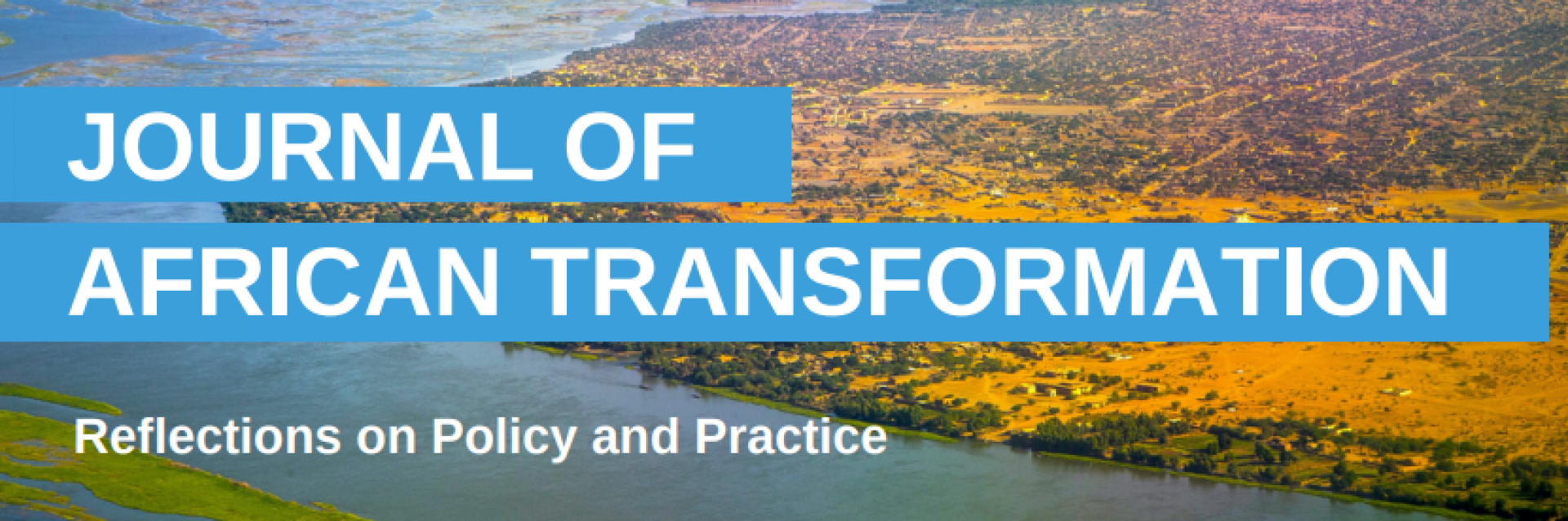 Journal of African Transformation - Special 2022 Edition