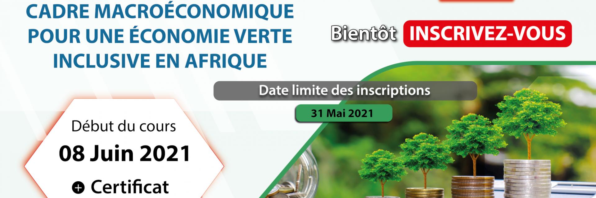 Cadre macroéconomique pour une économie verte inclusive en Afrique