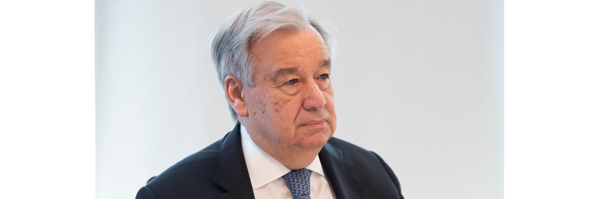 THE SECRETARY-GENERAL - REMARKS AT VIRTUAL MEETING WITH THE AFRICAN GROUP