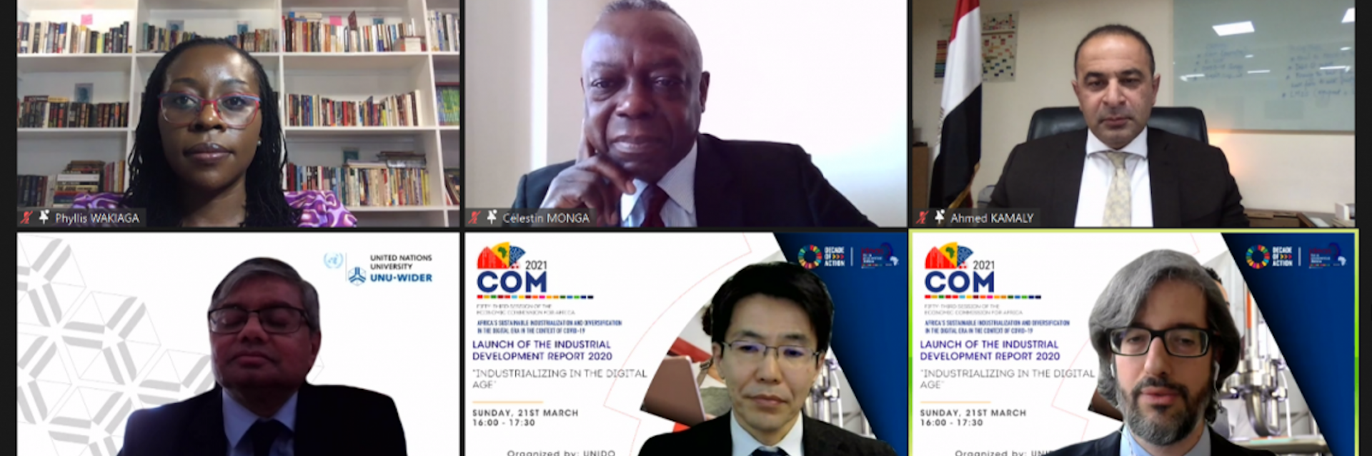 Africa's sustainable industrialization and diversification in the digital era and in the context of COVID-19
