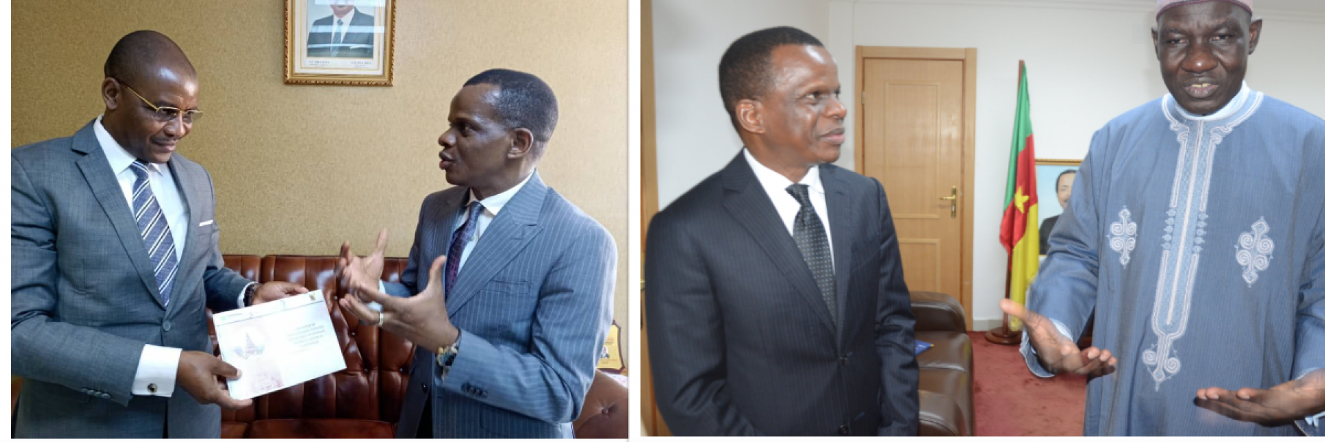 Plaudits for milestones in ECA-Cameroon relations during Antonio Pedro's term as Head of Central Africa Office