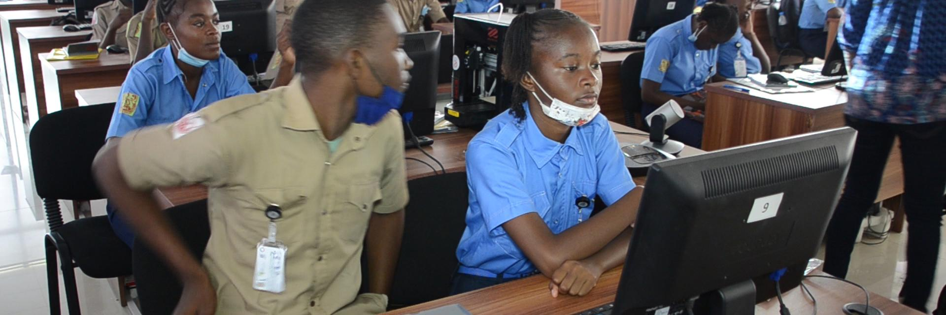 Young Africans create software thanks to UN bootcamp