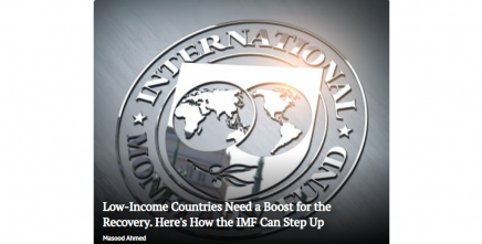 Low-Income Countries Need a Boost for the Recovery. Here's How the IMF Can Step Up